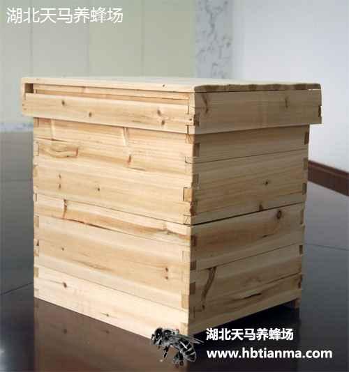 意蜂蜂箱-杉木-结实耐用-湖北天马养蜂场