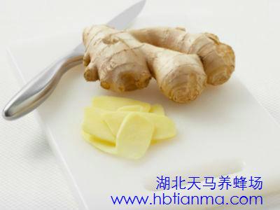 蜂蜜生姜祛斑法